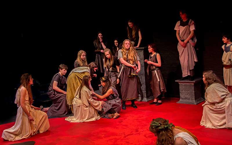 York Theatre Royal Youth Theatre Julius Caesar