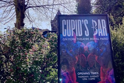 Fancy a romantic drink? Try Cupid's Bar, the new pop-up in York city centre